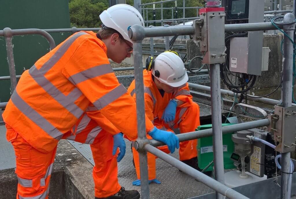 Technicians Sampling